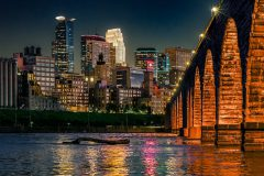 Minneapolis and Stone Arch Bridge